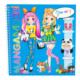 Top Model Manga Kostüm Giydirme 8519