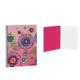 Busquets Hippy Flower Kareli A4 Defter 80 Sayfa 20652088300