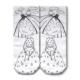 Ogobongo Boyama Çorabı 22003