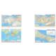 Mep Harita Dünya Siyasi Haritası + Türkiye Siyasi Ve Fiziki Haritası + İstanbul Haritası 70 x 100 cm