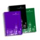 Faber Castell Not Defteri Pp Kapak 80 Yaprak A4 Kareli (Yeşil, Mor, Siyah
