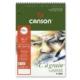 """Canson """"C"""" À Grain Spiralli Çizim Defteri 224Gr - A3"""