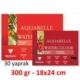 Clairefontaine Aquarelle Sulu Boya Blok 300Gr. 18X24Cm