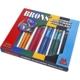 Brons Jumbo Alıştırma Fırçaları 24Lü Set Br 666