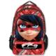 Ümit Çanta Miraculous Ladybug Kırmızı - Siyah Sırt / Okul Çantası