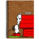 My Note Kraft Spiralli Defter A4 100 Yaprak Kareli Snoopy1001-K