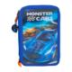 Top Model Monster Car Mavi 3 Katlı Dolu Kalem Kutu Dk08971-2