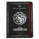 Game Of Thrones Defter 12X16 Cm Sert Kapaklı Lastikli 120 Yaprak Targaryen Got211