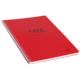 Keskin Color Plastik Kapak Spiralli Free Defter A4 80 Yaprak Kareli - Kırmızı