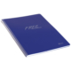 Keskin Color Plastik Kapak Spiralli Free Defter A4 80 Yaprak Kareli - Lacivert