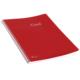 Keskin Color Plastik Kapak Spiralli Cool Defter A4 72 Yaprak Çizgili - Kırmızı