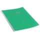 Keskin Color Plastik Kapak Spiralli Cool Defter A4 72 Yaprak Kareli - Yeşil