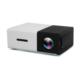 Bluecat Yg300 Mini Led Projeksiyon Cihazı 600 Lümen Ev Sinema Sistemi Hdmı Usb Sd Kart Şarjlı