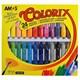 Amos Silky Gel Crayon 24 Renk Csg24