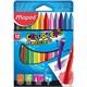 Maped Mum Boya Kalemleri 862011 Color' Peps Plasticlean 12'Li