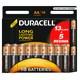Duracell Alkalin AA Kalem Pil (13+5) 18'li Paket