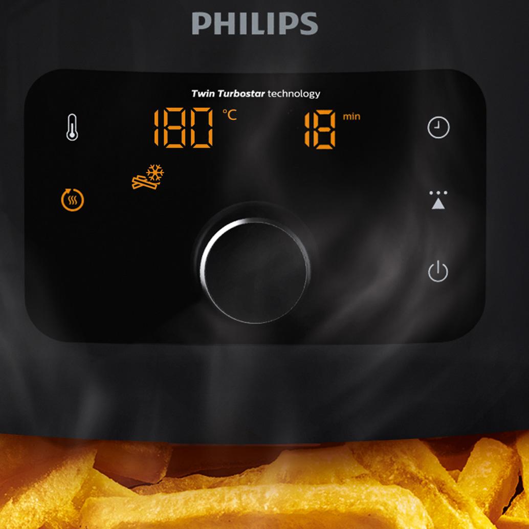 5 adet önceden ayarlanmış pişirme programıyla dijital ekran