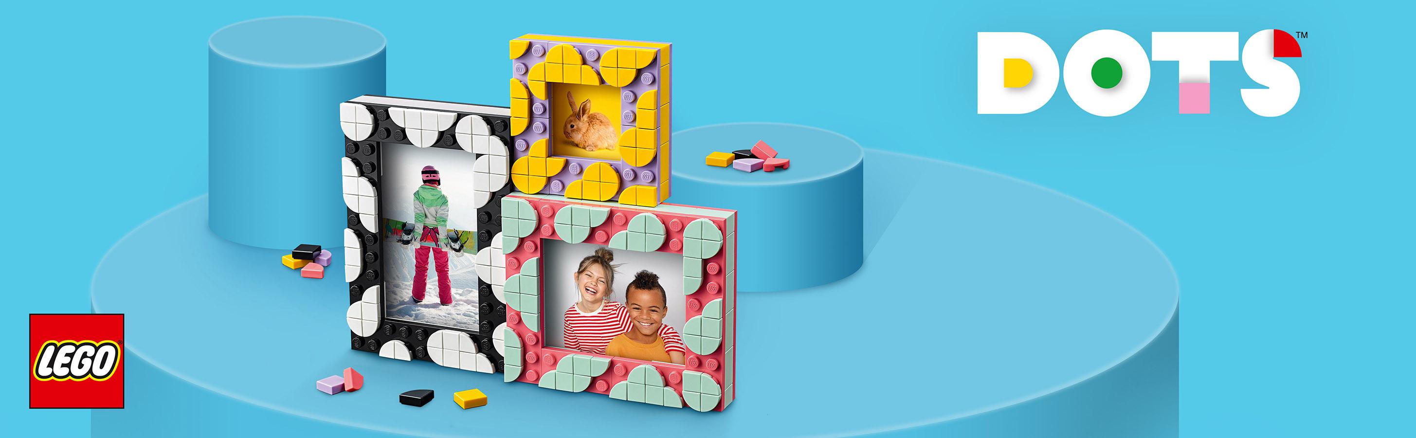 LEGO® DOTS setleriyle özgür yaratıcılık
