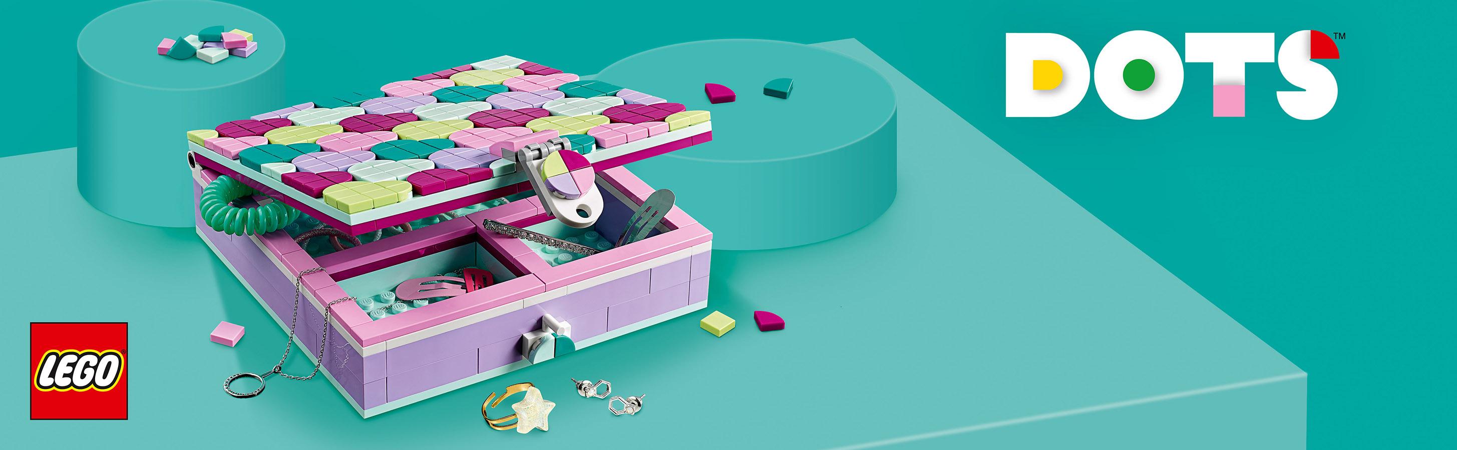 Bir odayı LEGO® DOTS setleriyle tasarlayın ve dekore edin!