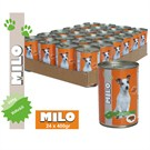 Milo Biftekli Köpek Konservesi 400 gr x 24'lü