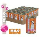 Milo Kuzu&Pirinçli Köpek Konservesi 400 gr x 24'lü gk fd
