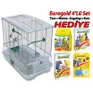 Vision Kafes M01 Kısa + Eurogold Hediye Seti (Eurogold Yem+Kum+Mama+Gaga Tası) Hediye!