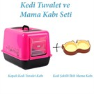 Kedi Tuvalet Ve Mama Kabı Seti