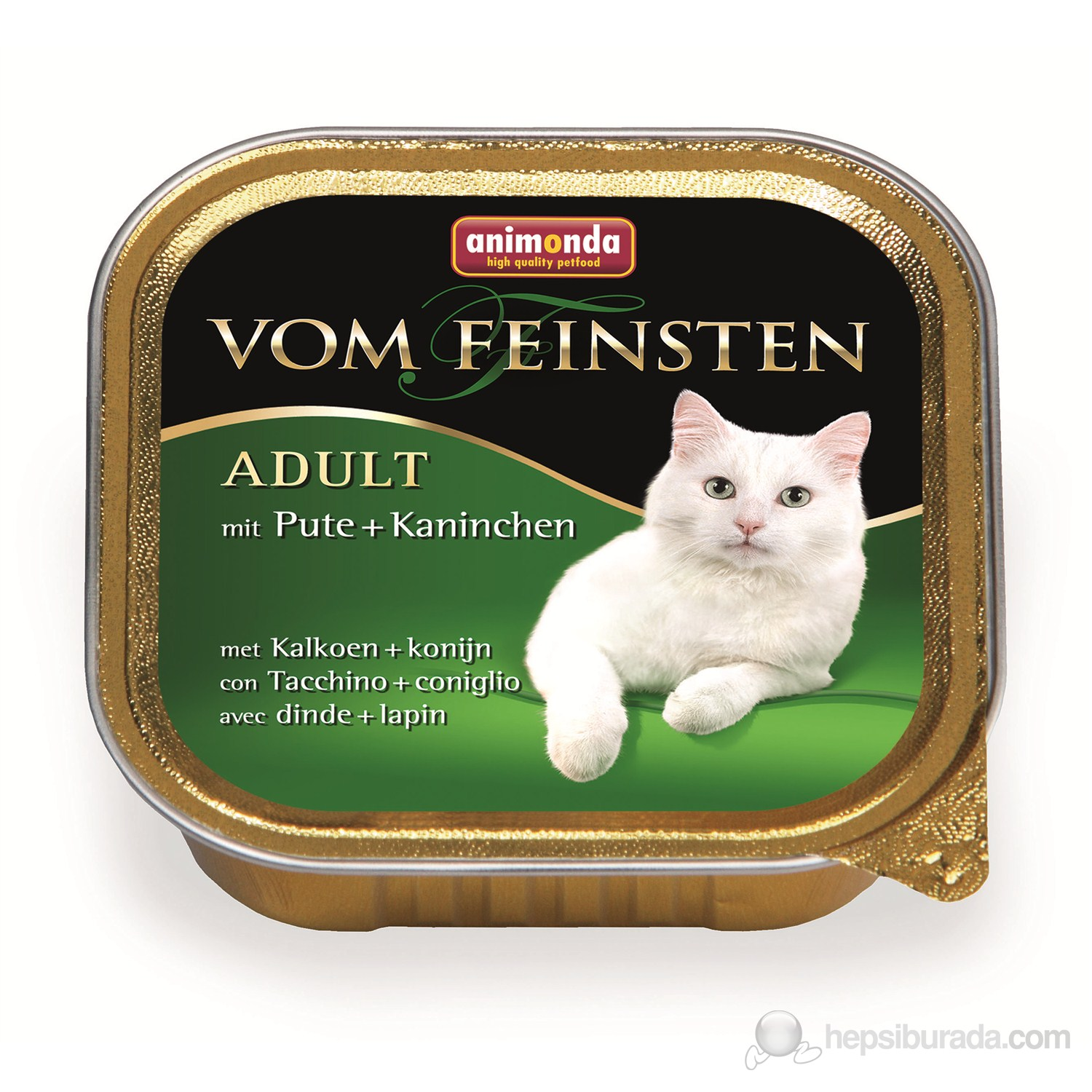 Animonda V.F. Class Hindi &Tavşan Etli Kedi Konserve 100 Gr