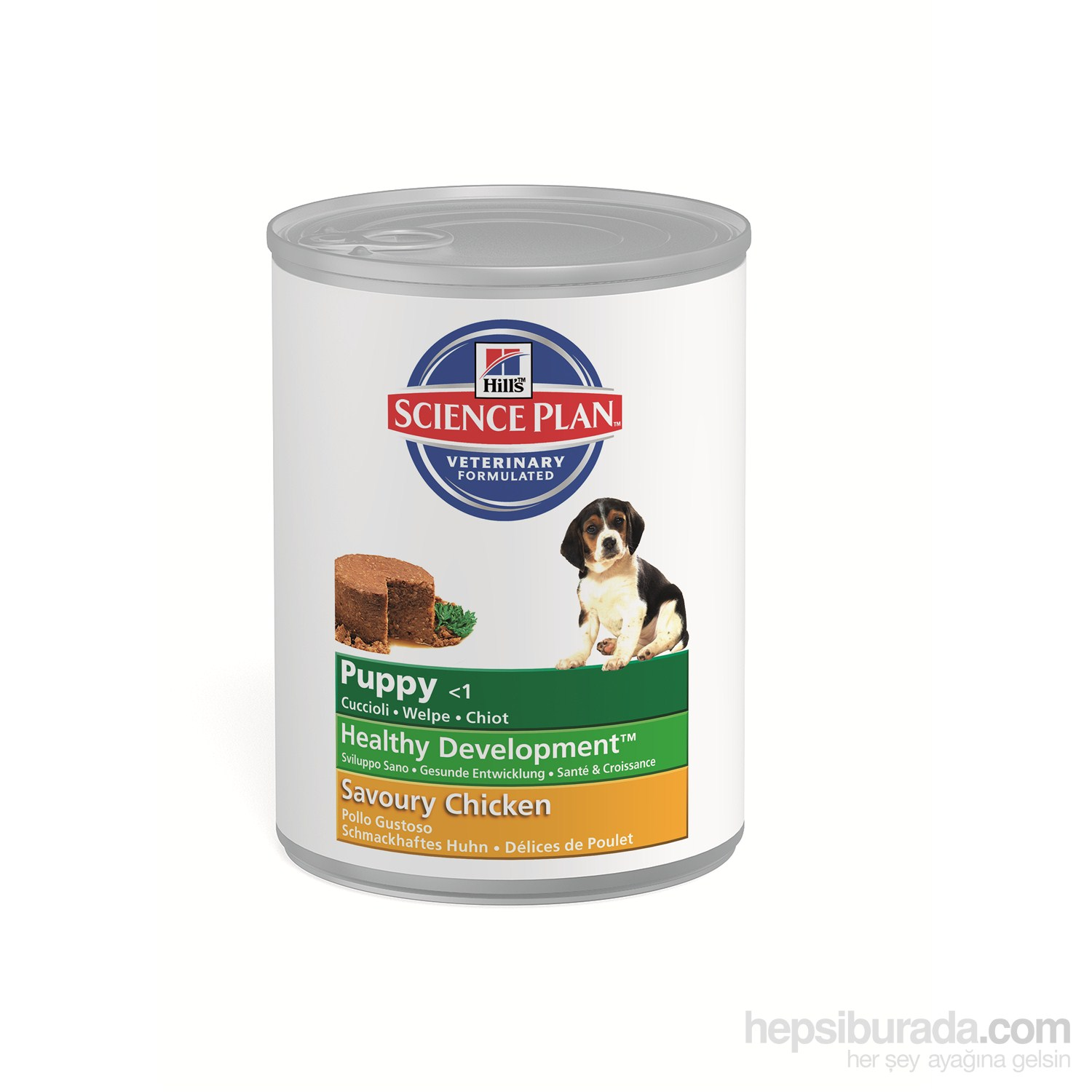 Hill's Science Plan Tavuklu Yavru Köpek Konserve Maması 370 Gr (Puppy Healthy Development Savory with Chicken)