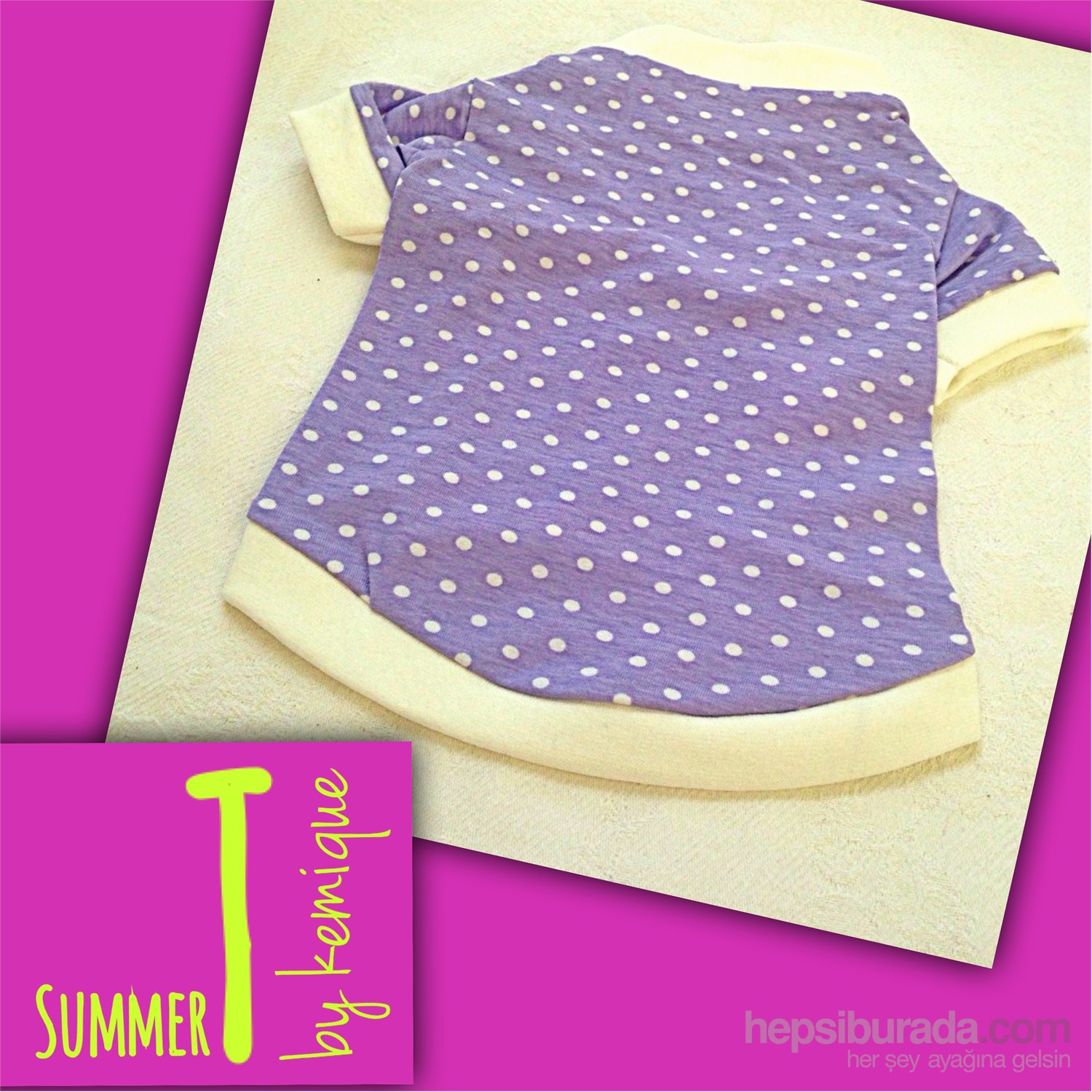 Polka Dots Tişört - Summer T By Kemique