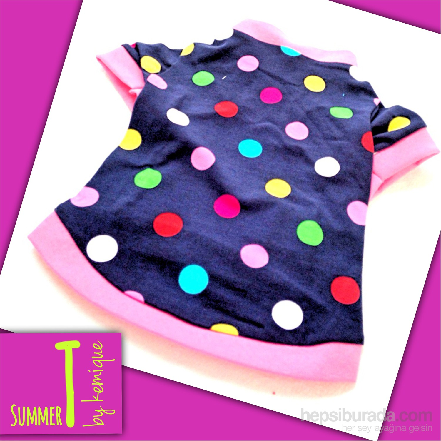 Bıg Dots Tişört - Summer T By Kemique
