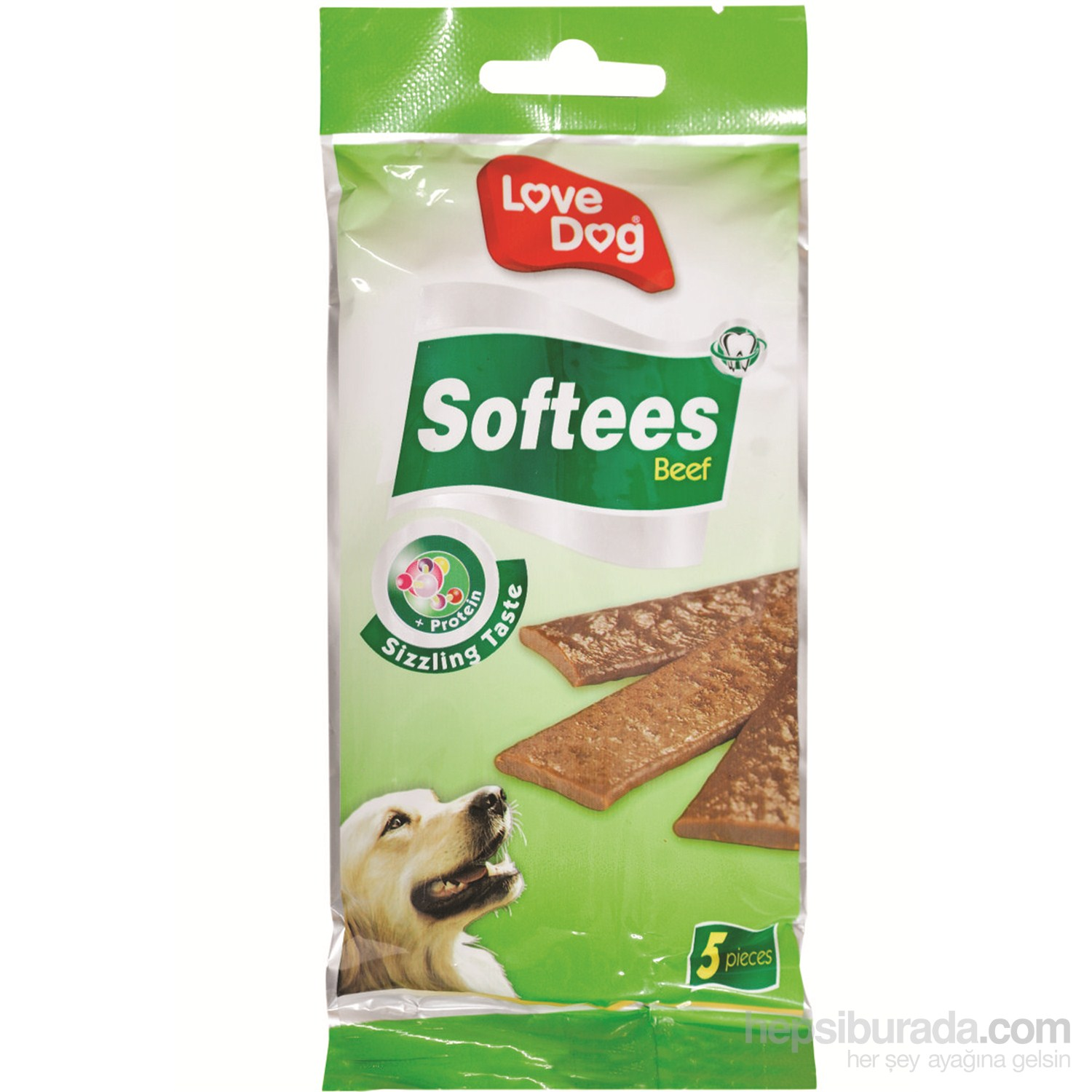 Love Dog Softees Biftekli Köpek Ödülü 65 Gr