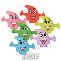 Trixie köpek oyuncağı , vinyl damla surat 6cm
