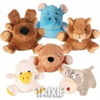 Trixie köpek oyuncağı, peluş sesli oyuncak 10-12cm