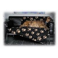 Trixie Köpek Polarlı Battaniyesi 150x100cm Siyah-Bej Rengi