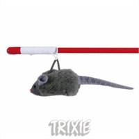 Trixie kedi oyuncağı, fareli olta 47cm