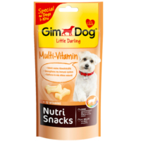 Gimdog Little Darling Nutri Snacks Multivitaminli Köpek Ödülü 40 Gr