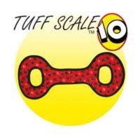 Tuffy Ultimate Tug-O War Yumuşak Sesli Köpek Çekiştirme Oyuncağı 55 Cm (Kırmızı)