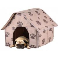 Toptancı Kapında Taşınabilir Köpek Evi