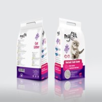 Mycat Pudralı Kalın Taneli Kedi Kumu New 10 Lt