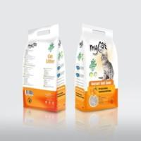 Mycat Portakal Kokulu Kalın Taneli Kedi Kumu New 10 Lt