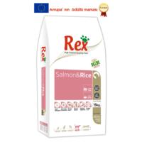 Rex Premium Salmon&Rice Köpek Maması 15 kg
