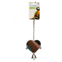 Flip Pj-158 Kuş Oyuncağı Akrilik Kalpli