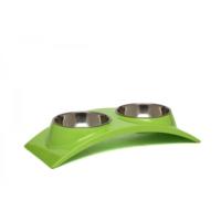 Super Design Ml990351 S Yeşil Oval İkili Mama Kabı