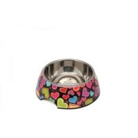 Super Design Ap990011 S Renkli Kalp Desen Melamin Mama Kabı