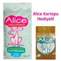 Alice Light & Sterilised 12kg + Alice Kartopu 5 Kg Hediyeli