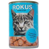 Rokus Balıklı Kedi Konserve Mama 410 gr