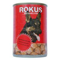 Rokus Dana Et Parçalı Konserve Köpek Maması 410 Gr