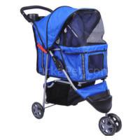 Petaraba Kedi Köpek Taşıma Arabası Mavi