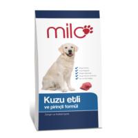 Milo Kuzu Etli ve Pirinç Formüllü Köpek Maması 1kg